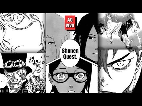 Shonen Quest - One Piece 792. Boku no Hero Academia 49. Naruto Gaiden 10. Bleach 633