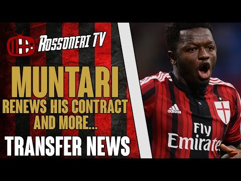 Muntari renews his contract and more... | AC Milan Transfer News | (18/06/14)