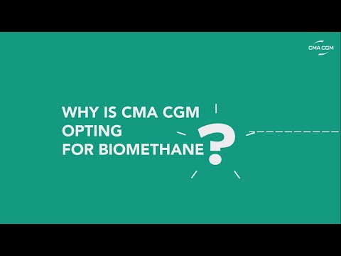 Introduction to biomethane from CMA CGM