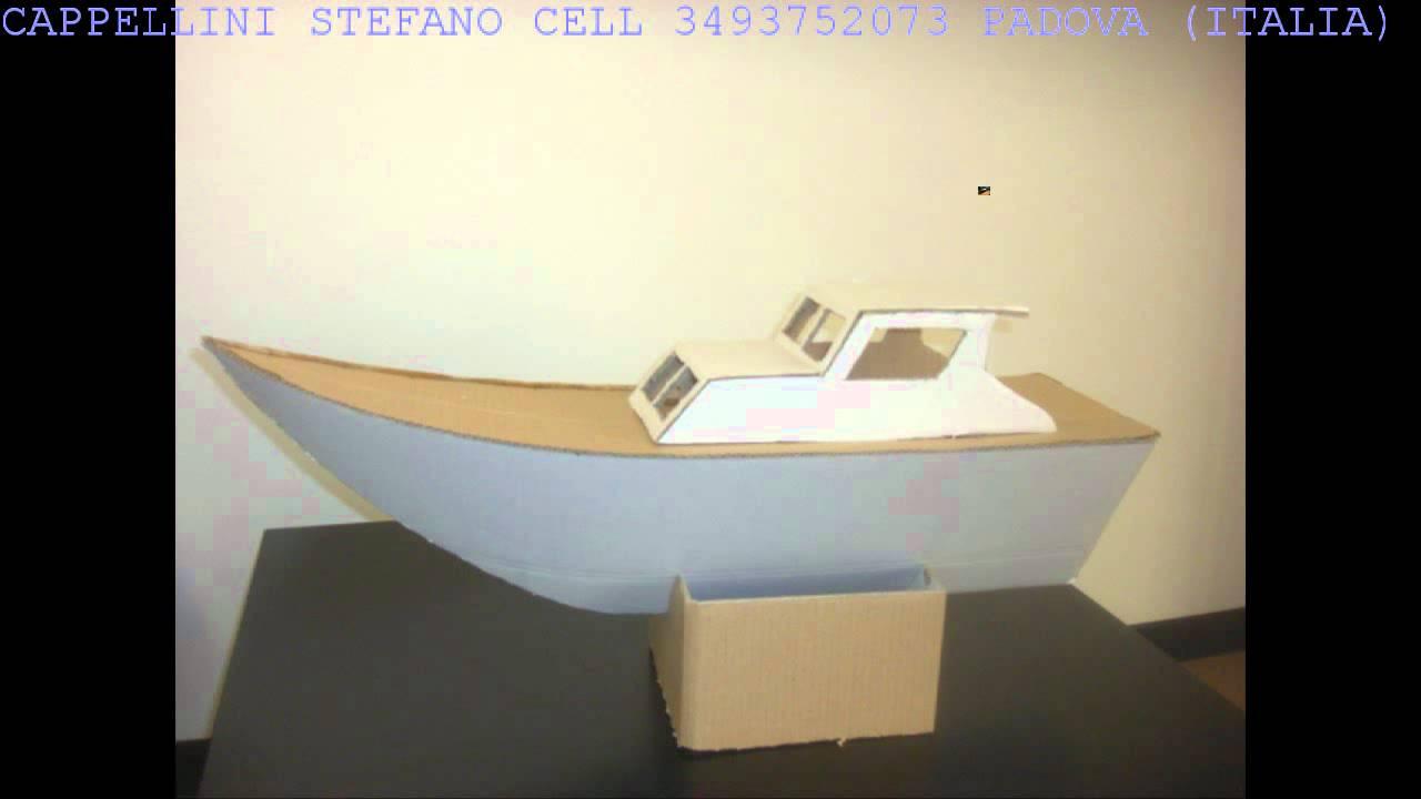 Boat of cartoon original ideas by cappellini stefano italy for Arredi di cartone