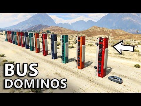 GTA V - Will Bus Dominos Work?