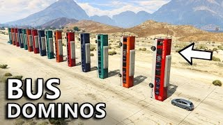 GTA V - Will Bus Dominos Work?