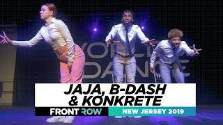 Jaja, B-dash & Konkrete | FRONTROW | World of Dance New Jersey 2019 | #WODNJ19