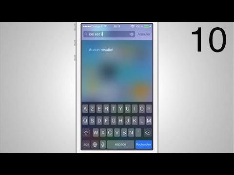 10 Raisons de ne PAS installer iOS 7