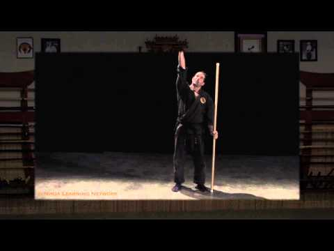 Rokushakubo Stick Stretching: Conditioning Technique for Ninjutsu Bujinkan Image 1