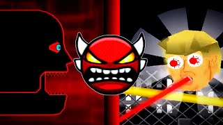 Top 5 weird geometry dash Boss Battles