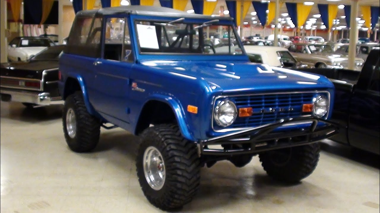 Classic Ford Bronco For Sale >> 1977 Ford Bronco 4x4 302V8 James Duff Suspension - Awesome Offroad Vehicle - YouTube