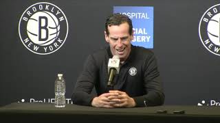 Kenny Atkinson and Sean Marks 2018-19 Wrap-Up Press Conference