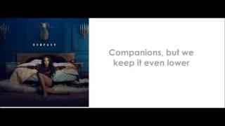 Tinashe - Company (lyrics)