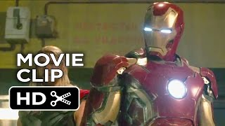 Avengers: Age of Ultron Movie CLIP - Ultron Fight (2015) - Marvel Sequel HD