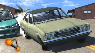 BeamNG.Drive Mod : Ford Cortina (Crash test)