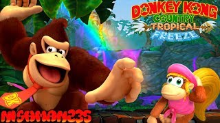 *KING OF THE JUNGLE* Donkey Kong Country Tropical Freeze 100% (Juicy Jungle)