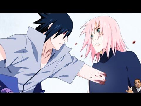 Naruto 693 Manga Chapter  ナルト Review -- Naruto Vs Sasuke Final Fight = Sasuke Kills Sakura ?!?!