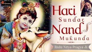 Hari Sundar Nanda Mukunda by Rishi Nitya Pragya Ji | Krishna Bhajans | Roots Of Pushkar Records