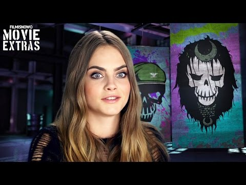 Suicide Squad | On-set with Cara Delevingne 'Enchantress' [Interview]