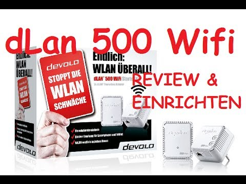 devolo dlan 500 wifi starter kit einrichten deutsch german 2013 youtube. Black Bedroom Furniture Sets. Home Design Ideas