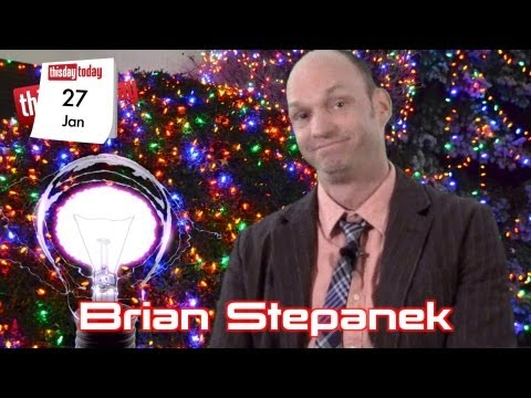 Edison's Light Bulb. Jan27: Brian Stepanek