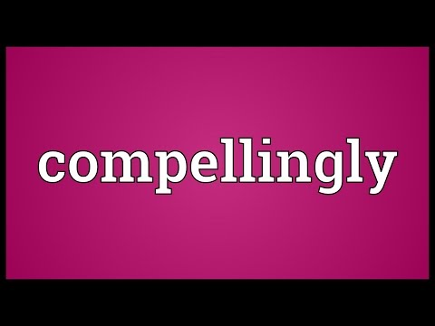 Header of compellingly