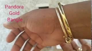 REVEAL: Pandora 14KT Gold Bracelet Anniversary gift