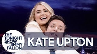 Kate Upton Demonstrates a Jiu-Jitsu Rear Naked Choke on Jimmy
