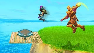 Most Epic ESCAPE From THANOS  Fortnite WTF, Troll, Funny