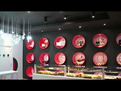 Dise o de pasteler a roberto riego estudio de interiores for Disenos de interiores para negocios