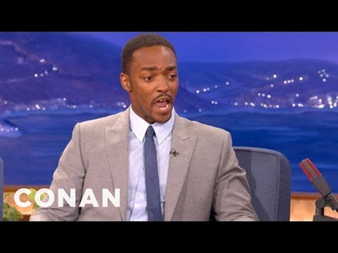 Anthony Mackie Has A Winning Tracy Morgan Impersonation  - CONAN on TBS