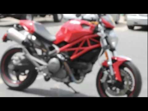 Starter Bike for Beginner Riders - DUCATI Monster 696 Italian Standard Naked Bike