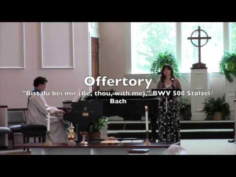 Worship Music - First Presbyterian, Rogers, AR July 27, 2014