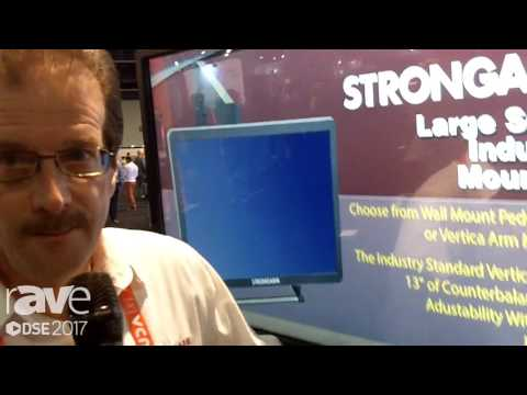 DSE 2017: STRONGARM Showsoff Heavy Duty Mounting Solutions