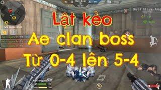 CrossFire Legend: GẶP TEAM BOS MAX// LẬT KÈO NHANH NHƯ TRONG PHIM