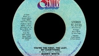 Barry White You 39 Re The First The Last My Everything 1974 Disco Purrfection Version