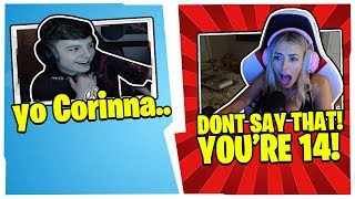 CORINNA *DISGUSTED* WHEN CLIX SAYS THIS TO HER!