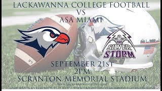 Lackawanna College Football vs ASA Miami