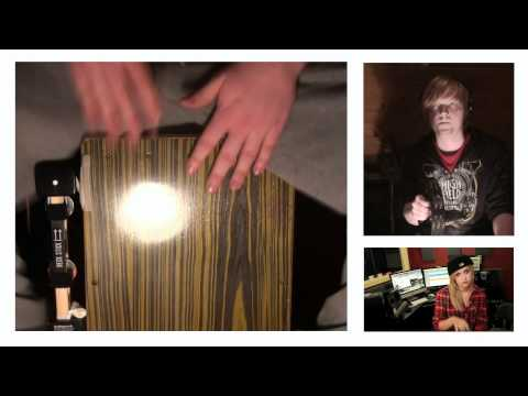 CAJONTUBE: Tyler Ward, Julia Sheer and Eppic - Misery (Cajon Cover)