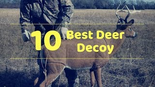 10 Best Deer Decoy - Tactical Gears Lab 2020