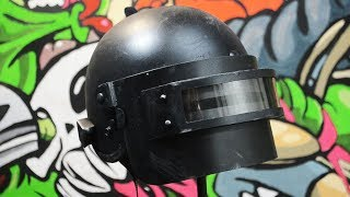 Как сделать шлем PLAYERUNKNOWN'S BATTLEGROUNDS