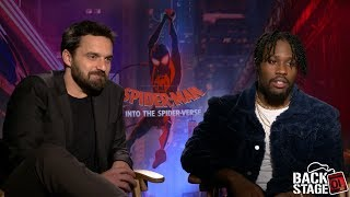 Spider-Man: Into The Spider-Verse Interviews | Jake Johnson, Shameik Moore, Chris Miller & Phil Lord