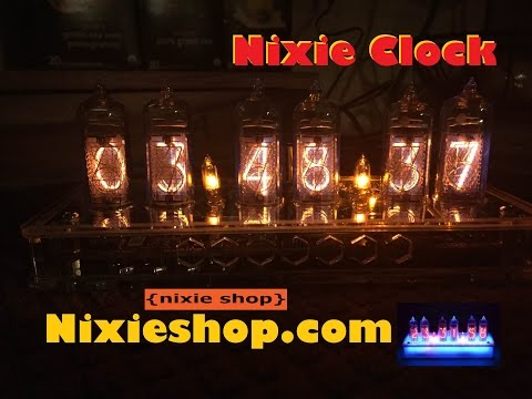 Nixie Clock from NixieShop.Com Review