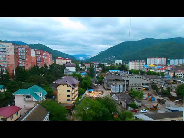 Сочи, Лазаревское, погода 19 мая 2014 г + 18°C, пасмурно