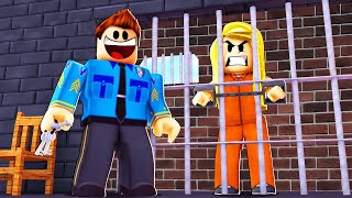UNDERCOVER COP PRISON BREAK MISSION! (Roblox)