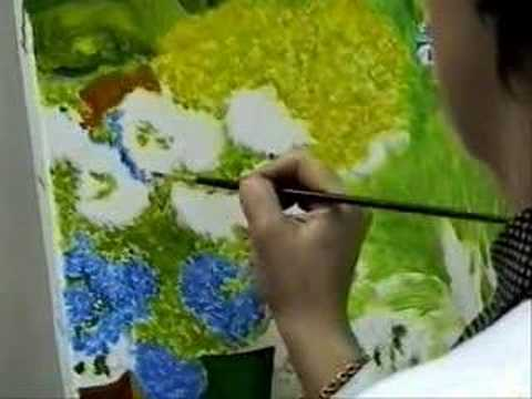 Aprendiendo a pintar