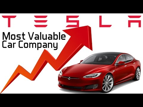 Tesla Now the Most Valuable Car Company in the US - Why?