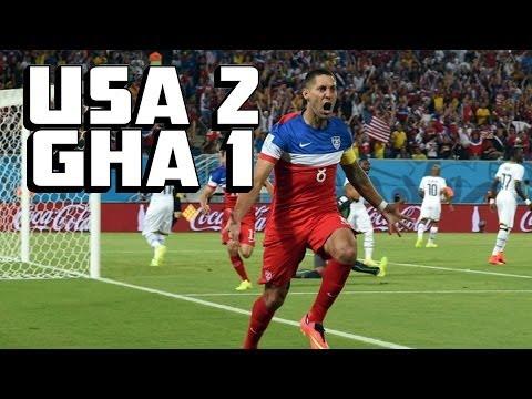 Dempsey 1st Minute Goal Propels USA Past Ghana [USA vs. Ghana]