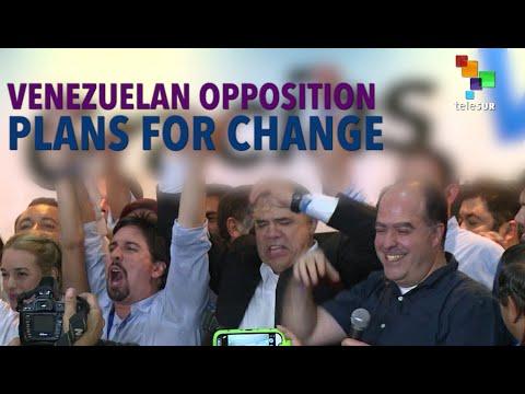 Venezuelan opposition plans for change