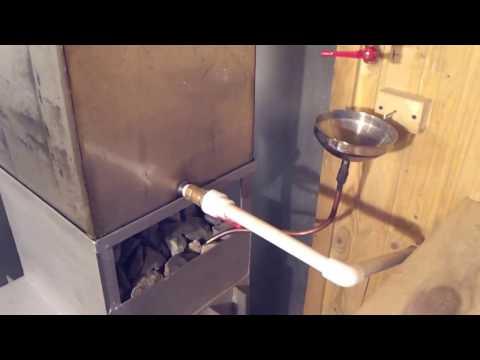 Автоматическая подача воды на каменку своими руками 84