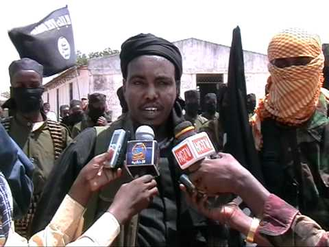 Al-Shabab insurgent movement soldiers