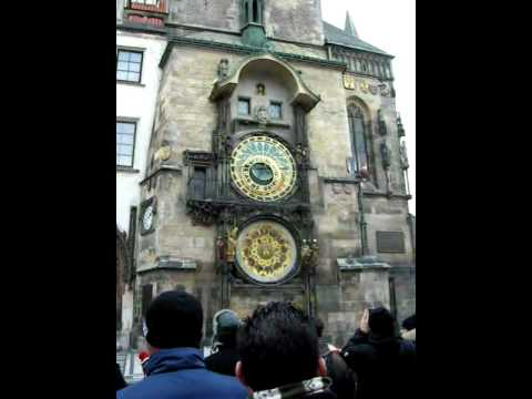 Prague's Astronomical Clock & Surrounds
