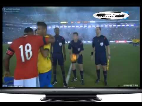 Respect !Neymar accepts the Zúñiga`s apology for that bad tackle in the world cup  (1080p HD)