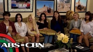 Rated K: Korina Sanches-Roxas interview with all-female K-pop group Momoland
